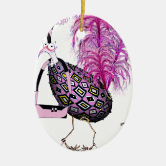 The Pink Sapphire Fab Egg, tony fernandes Christmas Ornament