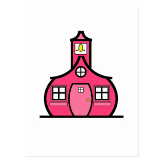 The Pink Schoolhouse Postcard