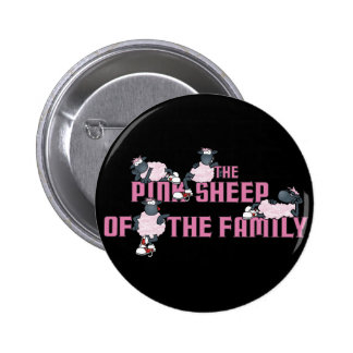 The Pink Sheep Black Button