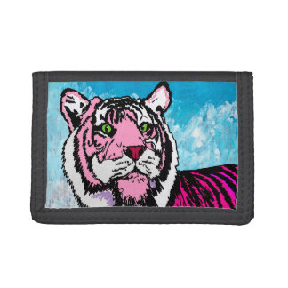 The Pink Tiger Tri-fold Wallets