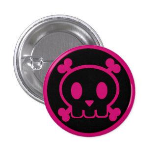 The Pink Twin of Skullbert 3 Cm Round Badge