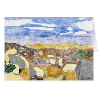 The Pinnacles by Julia Hanna Card