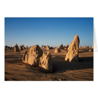 The Pinnacles desert Nambung National Park Card