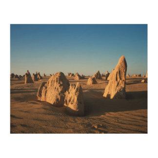 The Pinnacles desert Nambung National Park Wood Print