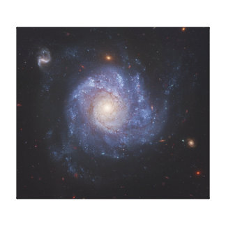 The Pinwheel Galaxy Messier 101 NGC 5457 Canvas Prints