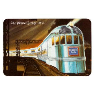 The Pioneer Zephyr 1934 Premium Flexi Magnet