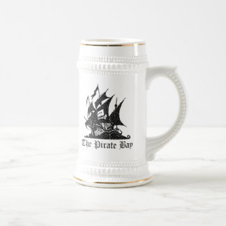 The Pirate Bay Beer Stein