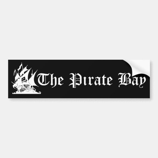 The Pirate Bay Bumper Sticker