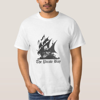 The Pirate Bay Carbon Fiber Logo T-Shirt