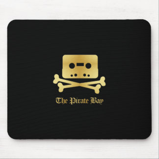 The Pirate Bay Gold Logo Mouse Pad