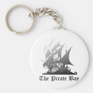 The Pirate Bay Grey To Black Key Ring
