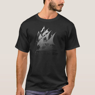 The Pirate Bay Grey To Black T-Shirt