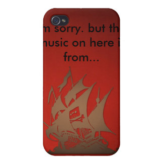 The Pirate Bay iPhone Case iPhone 4/4S Cases