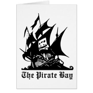 The Pirate Bay Logo Greeting Card