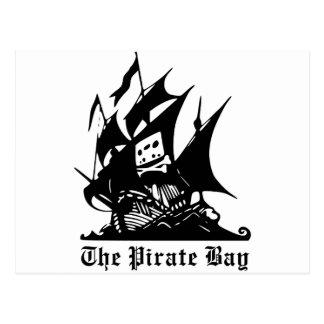 The Pirate Bay Logo Postcard