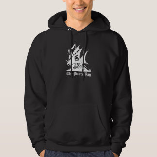 the pirate bay pirate ship logo hoodie