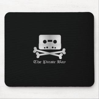 The Pirate Bay Silver Cross Bone Logo Mouse Pad