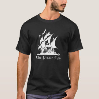 The Pirate Bay Soon T-Shirt Black