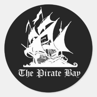 The Pirate Bay Round Sticker