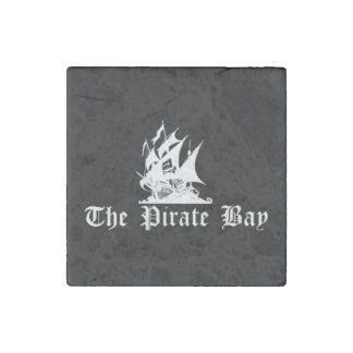 The Pirate Bay Stone Magnet