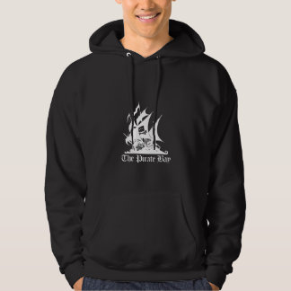 The Pirate Bay White Logo Hoodie