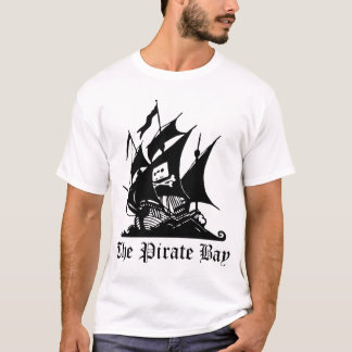 The Pirate Bay (White) T-Shirt