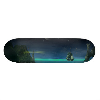 The Pirate Cove 18.1 Cm Old School Skateboard Deck