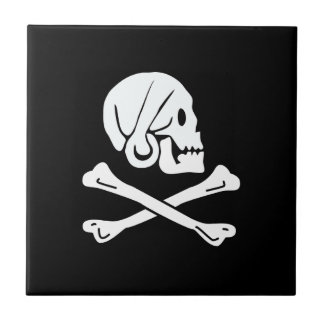 The pirate henry flag tile