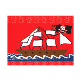 The Pirate Ship Gallery Wrapped Canvas