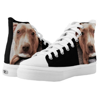 THE PIT BULL high tops