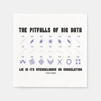 The Pitfalls Of Big Data Overreliance Correlation Disposable Serviettes