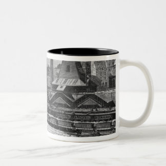 The Pits of St. Pierre & St. Paul at Le Two-Tone Coffee Mug