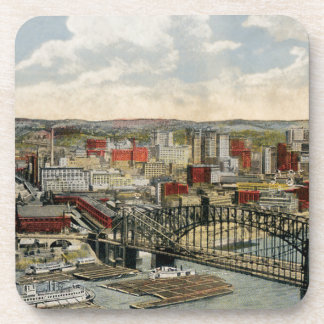 The Pittsburgh Point 1931 Coaster