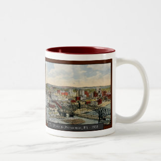 The Pittsburgh Point 1931 Coffee Mug