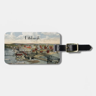 The Pittsburgh Point 1931 Luggage Tag