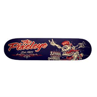 The Pixeleye - Red N.O.T. 21.3 Cm Mini Skateboard Deck