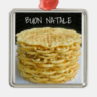 """THE PIZZELLE"" ITALIAN CHRISTMAS ORNAMENT"