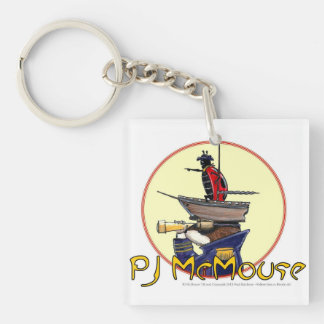 The PJ McMouse Keychain! Key Ring