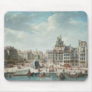 The Place de Greve, Paris Mouse Mat