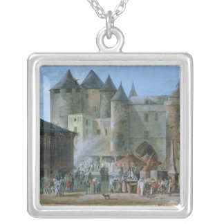 The Place de l'Apport-Paris Silver Plated Necklace