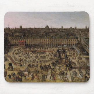 The Place Royale and the Carrousel in 1612 Mouse Mat
