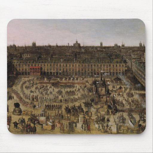 The Place Royale and the Carrousel in 1612 Mousepads