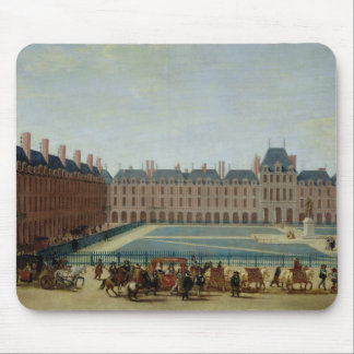 The Place Royale with the Royal Carriage, c.1655 Mouse Mat
