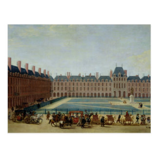 The Place Royale with the Royal Carriage, c.1655 Postcard