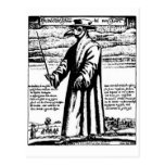 The Plague Doctor. Postcards