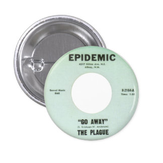 The Plague - Go Away Pin