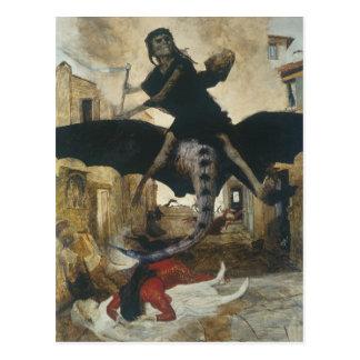 The Plague Postcard
