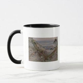 The Plains, Landour Church, Mussoorie, 1884 Mug