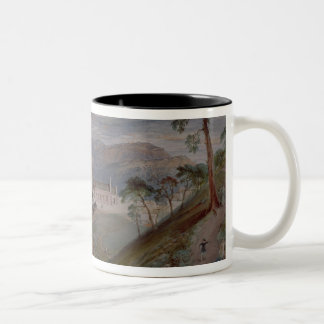 The Plains, Landour Church, Mussoorie, 1884 Two-Tone Coffee Mug