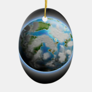 The Planet Christmas Ornament